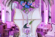 Wedding at Loft Hotel Montreal / Direction artistique : Madame Bombance  Fleurs : Yves Chenier Rentals : Tenu de soiree & Sofa to Go