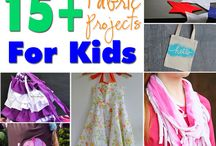 DIY Kids Fabric Projects / Kids Fabrics and things you can make with them