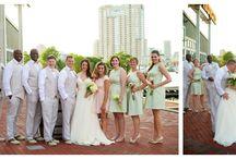 Creative Wedding Party Poses / Creative wedding party poses, sweet bridal party poses, cool groomsmen poses, great bridesmaids poses