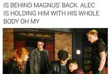 Malec and Shadowhunters