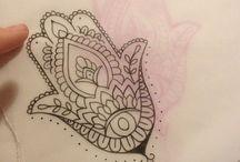 Tatuaggio Hamsa