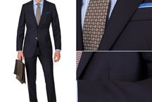 Premium Suits / 100% Super 140s Wool, Woven in Italy by Angelico. #menssuits