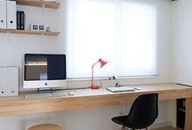 책상 및 선반