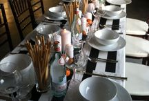 Table settings / by Cathy Edstrom