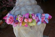 Flower crowns / more/mas info:www.carolinabouquet.com