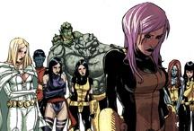Comic Books- MY X-Men Team / by Ryan Johnson