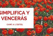 Post del Blog Cami a l'Estel / En este tablero comparto todos los post que voy publicando en mi blog: https://camíalestel.wordpress.com