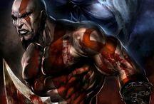 Dövmeler zeus & kratos