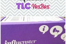 #TLCVoxBox / Love #Influenster  and their VoxBoxes :)