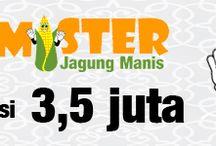 Mister Jagung Manis / Franchise jagung manis telp. 021-92196977 merupakan franchise murah 3,5 juta berupa waralaba makanan ringan di jakarta untuk usaha bisnis jagung manis dengan harga murah