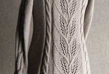 Knitting | Lace and cable sweaters / Pretty lace and cable knitted sweater ideas!