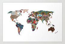 •Maps•