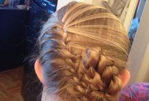Coiffure fillette / Mes essais en coiffure