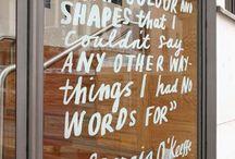 mclains window signage