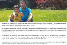 Para papá / ¡Aquí también el papá! Mira aquí todos sus posts. Visita la sección > http://happysloppymom.com/category/paternidad/