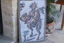 Mosaic / Hand made mosaics by Güray Altun