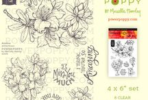 Power Poppy Stamp Sets / Power Poppy Stamp Sets