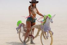 Burning man