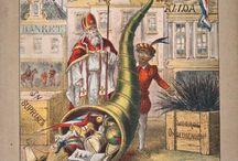 Sint Nicolaas en zijn knecht herdrukken / St. Nikolaas en zijn knecht (herdrukken / ilustraties)