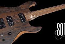 GUITARS / dragonfly guitars http://www.harrysjp.com/