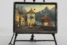 hodiny miniature