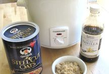 Crock Pot Oatmeal / by Sandi Fezatt Schrameyer