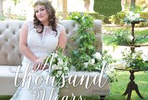 """""""A Thousand Years"""" - A Real Weddings Styled Photo Shoot"""