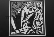 Kissingers lino print / Kissingers Lino Print. A body of work that keep the theme of togetherness. The prints are individual piece of artwork that can be framed.  A pair of chair were created by the idea of togetherness.