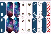 My Custom Jamberry Nail Wraps / Here are my custom Jamberry Nail wraps. To order any design, simply go to missclayborn.jamberrynails.net and purchase a $25.00 egift card. Email me and give me the code, and I will order the wraps, and then send them to you!  Easy peasy! For 2, get a 40 dollar card. More than that, message me on my site. Thanks!