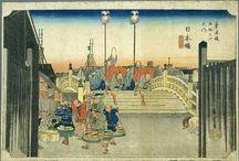 Tokaido / Serie de grabados del Periodo Edo