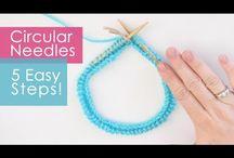 pletení postupy