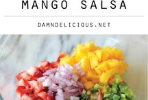 BEST Salsa Around the World! / Adam and I are seriously craving some chips and salsa!  Here's a board dedicated to all the amazing different ways to make salsa with a variety of ingredients worldwide!