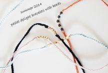 pastel / No79 pastel silk bracelet