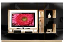 Wall Units / We are makers of these customizable TV wall units for the living room and bedroom.  / by Contempo Space
