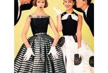 1950 - damemote/symønstre