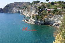 #Cavagrado Bay the small & beautyful beach of Sant'Angelo / A few meters from the entrance of #RomanticaHotel there is a beautyful & small beach magnificently placed in the bay of #Cavagrado - #Santangelo #Ischia The beach of #cavagrado It is reached by a staircase, not wheelchair accessible.  Eine kurze Strecke vom Eingang des #RomanticaHotel gibt es eine schöne und kleinen Strand. Prächtig wunderbar eingefügt in der Bucht von #Cavagrado - #Santangelo #Ischia - #Cavagrado_Strand wird durch eine Treppe zu erreichen, Rollstuhlfahrer nicht geeignet