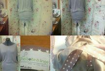 Vêtements et accessoires créer par ma boite à linge