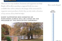Memorial Fundraiser / A fundraiser to create a memorial in a neighborhood park to honor fallen police officers in Grand Rapids, MI.