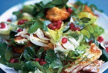 Recepten salade en groente