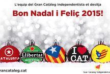 Feliç any 2015 / Imatges i postals independentistes per l'entrada d'any 2015