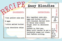 Recipes / Yummy things I want to make...or have someone else make so I can eat them!! / by Tricia Coots Reynolds