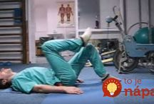 Cviky na chrbticu / Rusky doktor