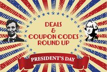 Holiday Deals / Holiday shopping deals & coupon codes.