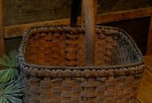 Antique Baskets / Love them, especially the ones that show their wear. / by Vicki Cheng of Country Corner