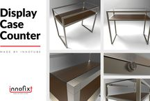Innofixt Creations / Through INNOFIXT Creations, our aim is to offer some original designs of shop furniture made by one or a combination of our solutions.
