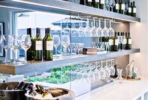 bar shelves ideas