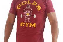 Golds Gym Bodybuilding Shirts / Bodybuilding shirts from the leading workout clothing names. In addition to a Golds Gym shirt, we offer both Powerhouse and World Gym bodybuilding t shirt styles.  Sleeveless muscle, v-neck, burnout tees, and standard bodybuilding shirt are in-stock.