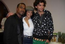 Mika with other stars