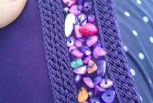 haft sznurek z koralikami