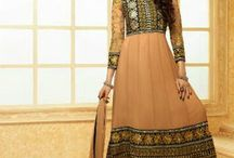 Beautiful  karishma Designer Anarkali Suit / Beautiful  karishma Kapoor Designer Anarkali Suit online. Presenting the exclusive Karishma  Beautiful Color combination Georgette anarkali suit work with embroidery lace Patti work. It's Comes With A Matching/contrasting bottom.And pure chiffon dupatta with lace.    For purchase contact us on : By website : http://highlifefashion.com/ For retail purchase What's Up : 9594002709 / 9930928622 / 9821925564 for bulk purchase email us on : info@highlifefashion.com